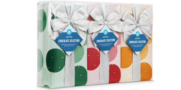 Pack x3 Cajas de bombones de chocolate belga Amazon Happy Belly de 250 gr/ud baratos en Amazon