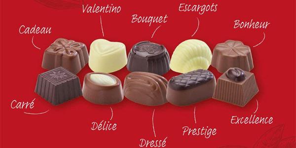 Pack x3 Cajas de bombones de chocolate belga Amazon Happy Belly de 250 gr/ud chollo en Amazon