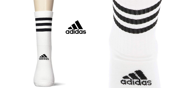 Pack x3 Calcetines unisex Adidas CSH chollo en Amazon
