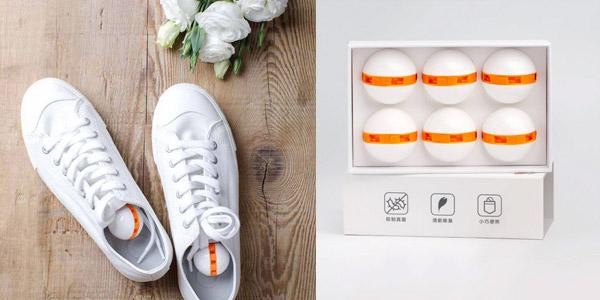 Pack x6 Bolas desodorizantes Xiaomi Clean-n-Fresh para zapatos barato en AliExpress