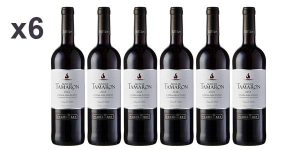 Pack x6 Altos De Tamaron vino tinto roble DO Ribera del Duero de 750 ml/ud barato en Amazon