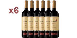 Pack x6 Los Molinos Reserva vino tinto D. O. Valdepeñas de 750 ml/ud barato en Amazon