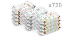 Pack x720 Toallitas biodegradables Mama Bear Disney Ultra Sensitive baratas en Amazon