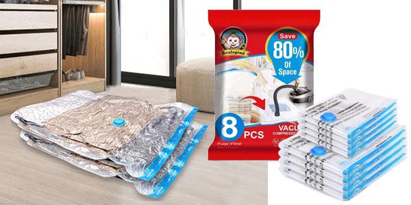 Set x8 Bolsas de almacenaje al vacío BoxLegend baratas en Amazon