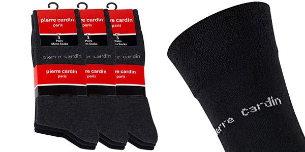 Pack x9 Pares de calcetines Pierre Cardin para hombre chollo en Amazon