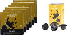 Pack x96 cápsulas Dolce Gusto Consuelo Forte baratas en Amazon