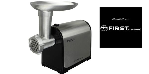 Picadora eléctrica de carne TZS First Austria de 300W en acero barata en Amazon