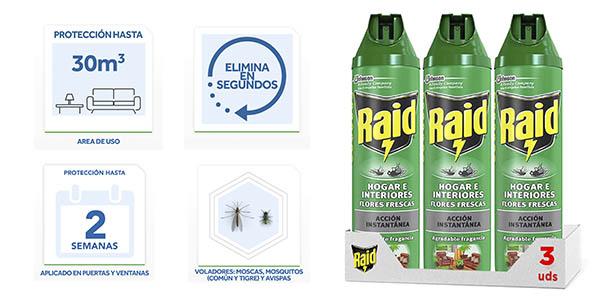 Raid Hogar Interiores Flores Frescas insecticida chollo