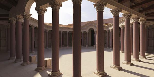 recorrido virtual templos Baalbek Líbano Patrimonio Humanidad UNESCO