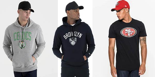 ropa firma New Era promoción Dakota
