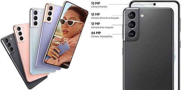 Cámaras del Samsung Galaxy S21