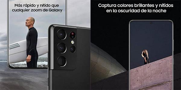 Samsung Galaxy S21 Ultra con cuadrúple cámara