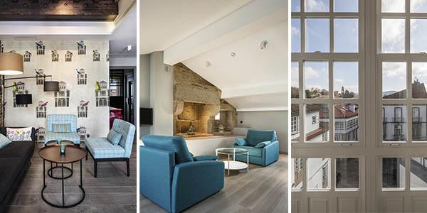Santiago Compostela Hotel céntrico relación calidad-precio