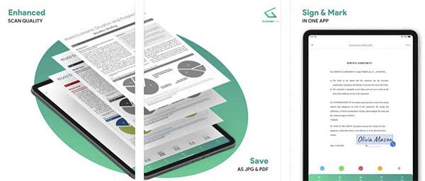 ScannerLens+ app móvil iPhone iPad gratuita