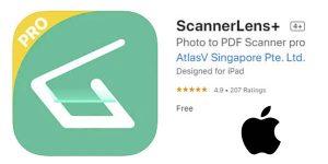 Scannerlens gratis iPhone