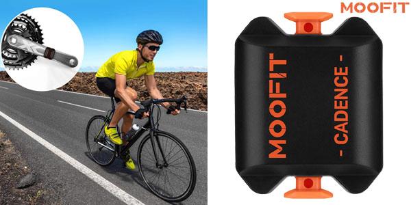 Sensor cadencia de ciclismo Moofit con Bluetooth y Ant+ barato en Amazon