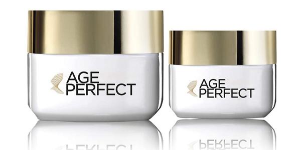 Set de crema de día hidratante + contorno de ojos antiojeras de L'Oréal París Age Perfect chollo en Amazon