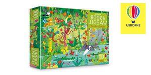 Set In The Jungle (Libro y Puzle) de Usborne Books barato en Amazon