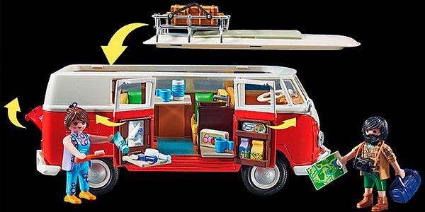 Set Volkswagen T1 Camping Bus de Playmobil barato