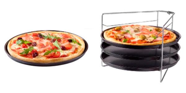 Set Zenker de moldes para 4 pizzas barato