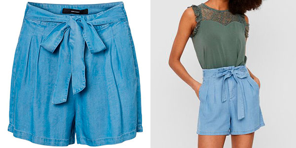 Shorts Vero Moda Loose Fit para mujer barato
