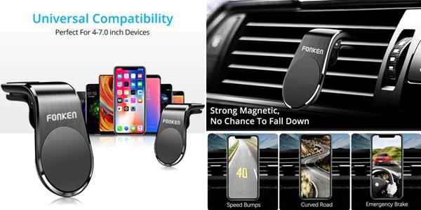Soporte magnético para teléfonos Fonken oferta en AliExpress