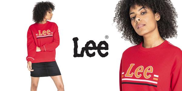 Sudadera Lee Logo SWS para mujer barata en Amazon