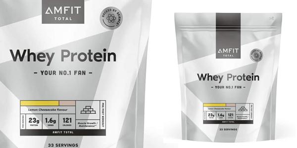 Envase 1 kg Proteinas Amfit Nutrition Cheesecake Limón barato en Amazon