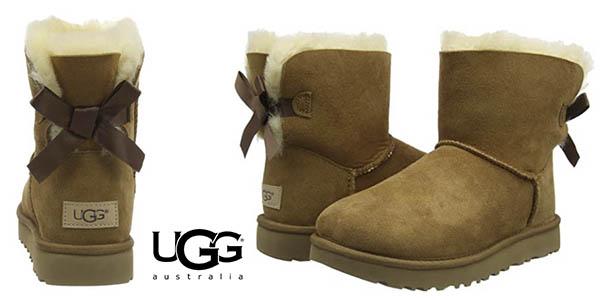UGG Mini Bailey Bow II botas chollo