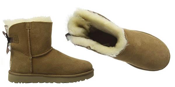 UGG Mini Bailey Bow II botas mujer oferta