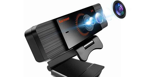 Webcam Karinear 1440p con micro