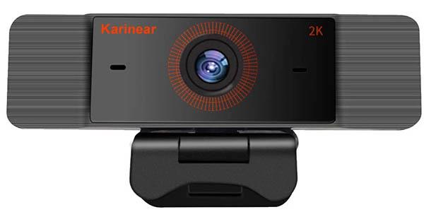 Webcam Karinear 1440p con cupón descuento