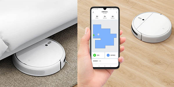 Robot aspirador Xiaomi Mi Robot 1C con app gratuita