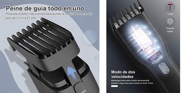 Yohoolyo cortapelos eléctrico peines guía oferta