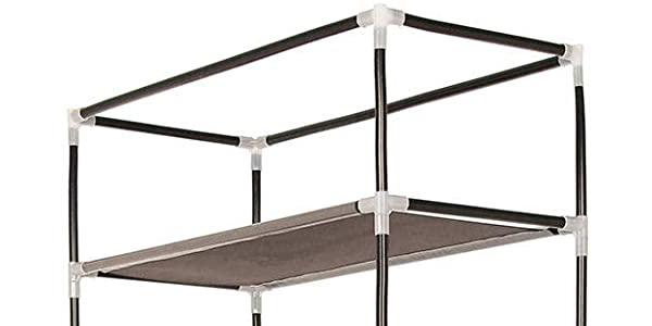 Zapatero vertical con cubierta de tela T-LoVendo TLV-FS-58160 chollo en Amazon