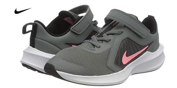 Zapatillas unisex Nike Downshifter 10 PSV para niños baratas en Amazon