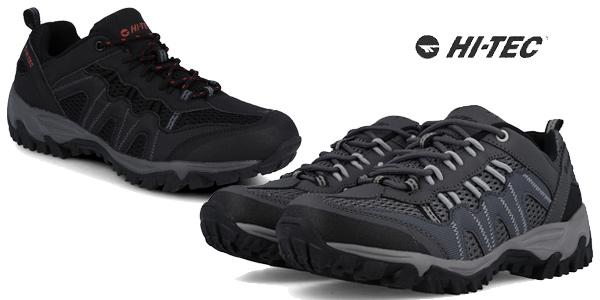 Zapatillas de senderismo Hi-Tec Jaguar para hombre baratas en Amazon
