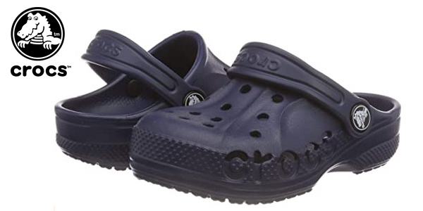Zuecos unisex Crocs Baya Clog K para niños baratos en Amazon