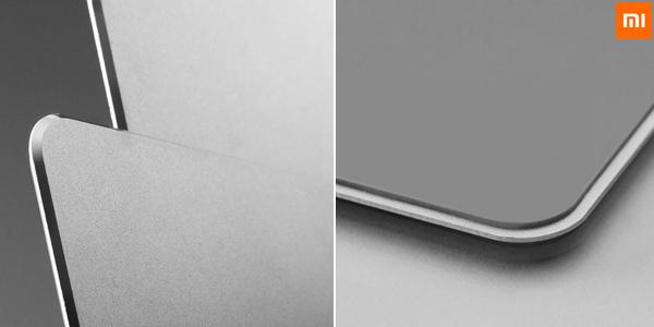 Alfombrilla metálica Xiaomi de aluminio chollo en AliExpress