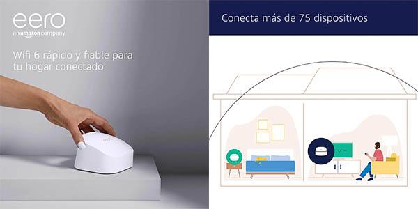 Amazon eero 6 para hasta 75 dispositivos