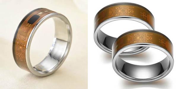 anillo inteligente NFC compatible con dispositivos móviles oferta