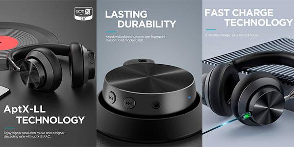 Auriculares Mixcder E10 con Bluetooth 5.0 y carga rápida baratos