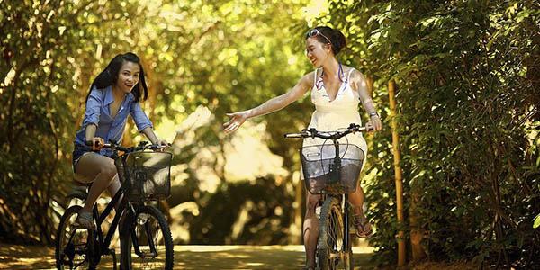 bici rutas vacaciones familia amigos