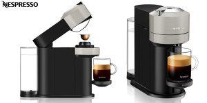 Cafetera de cápsulas Krups Nespresso Vertuo Next XN910B barata en Amazon