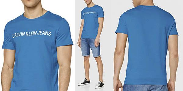 Calvin Klein Institutional Logo Slim SS camiseta oferta