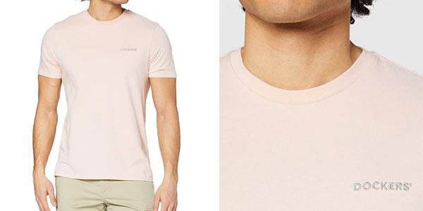Camiseta Dockers logo Tee barata en Amazon