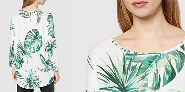 Camiseta de punto fino Only Onlelcos para mujer barata en Amazon