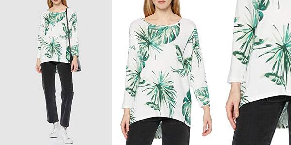Camiseta de punto fino Only Onlelcos para mujer chollo en Amazon