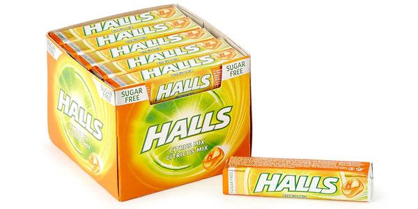 Caramelos Halls Cítrico chollo