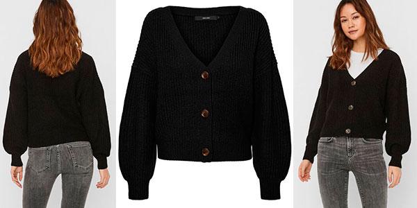 Cárdigan Vero Moda V-Neck Knitted para mujer barato